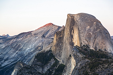 Half Dome viewed from Glacier Point, Yosemite National Park, UNESCO World Heritage Site, California, United States of America, North America