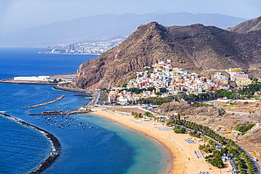 Playa de las Teresitas, San Andres, Tenerife, Canary Islands, Spain, Atlantic, Europe