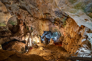 Wat Suwan Kuha (Cave Temple), Buddha Cave in Phang Nga, Thailand, Southeast Asia, Asia