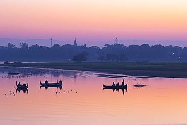 Sunrise in Mandalay, Myanmar (Burma), Asia