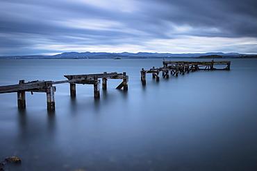 Aberdour Pier, Fife, Scotland, United Kingdom, Europe