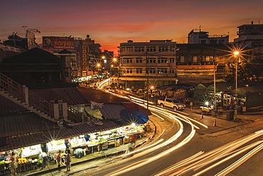 Chinatown market in Chiang Mai, Thailand, Southeast Asia, Asia