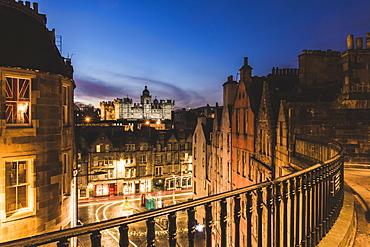 George Heriot's School at twillight, Edinburgh, Scotland, United Kingdom, Europe