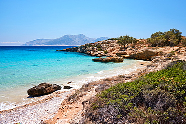 Paralia Pori beach, Koufonisi, Cyclades Islands, Greek Islands, Greece, Europe