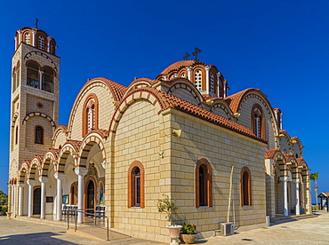 Church of St. Barbara in Paralimni, Cyprus, Europe
