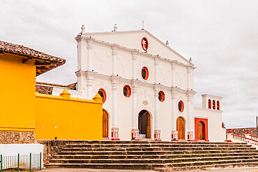 Convent of San Francisco, one of the oldest churches in Central America, in Granada, Nicaragua, Central America