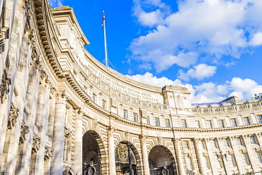 Architecture at Admiralty Arch, London, England, United Kingdom, Europe