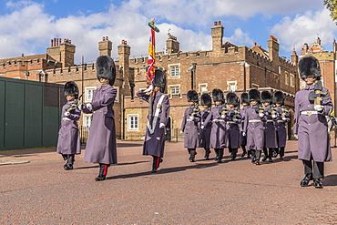 Changing the Guard, St. James Palace, London, England, United Kingdom , Europe