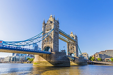 Tower Bridge and River Thames, London, England, United Kingdom, Europe