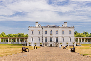 Queens House, UNESCO World Heritage Site, Greenwich, London, England, United Kingdom, Europe