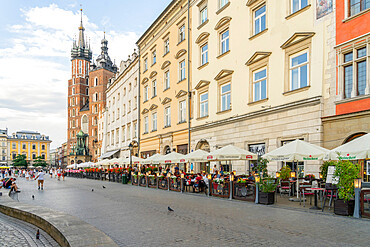 Old Town, UNESCO World Heritage Site, Krakow, Poland, Europe