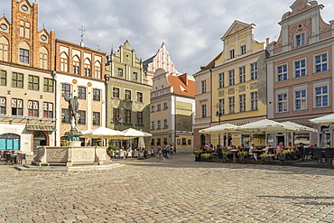 Old Town Square, Poznan, Poland, Europe