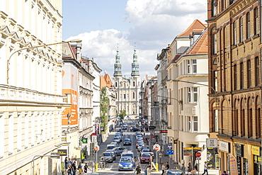 Street scene, Poznan, Poland, Europe