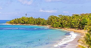 Punta Uva beach in Puerto Viejo, Limon, Costa Rica, Central America