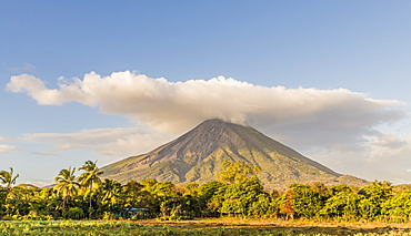 Volcano Concepcion on Ometepe Island, Nicaragua, Central America