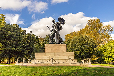 The Achilles statue in Hyde Park, London, England, United Kingdom, Europe