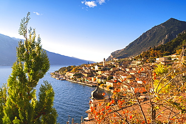 Limone sul Garda, Lake Garda, Brescia province, Lombardy district, Italian Lakes, Italy, Europe