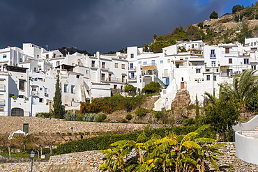 Fragiliana, a white old Moorish village in the province of Malaga, Andalucia, Spain, Europe