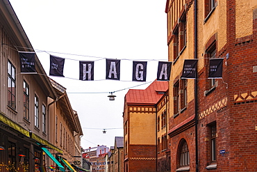 Haga district in Goteborg (Gothenburg) in spring, Vastra-Gotaland County, Sweden, Scandinavia, Europe