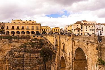 Puente Nuevo Ronda, El Tajo de Ronda, Ronda, Andalucia, Spain, Europe
