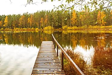Vihula Jarv (Lake Jarv) in Lahemaa, Laane-Viru County, Estonia, Europe