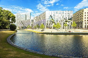 New shopping centre Ko-Bogen, Dusseldorf, North Rhine-Westphalia, Germany, Europe