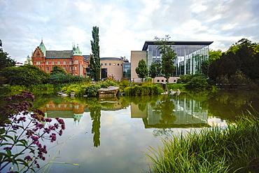 Malmo City Library, Malmo, Skane, Sweden, Scandinavia, Europe