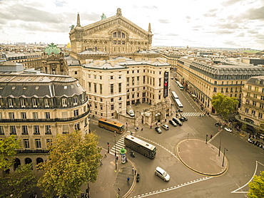 Paris Opera House from Lafayette Gallery (Galeries Lafayette), Paris, France, Europe