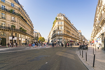 Rue de Turbigo, Etienne Marcel Station, 2nd Arrondissement, Paris, France, Europe