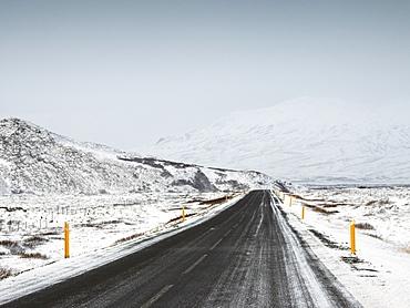 Road 36, Thingvellir National Park, UNESCO World Heritage Site, Iceland, Polar Regions