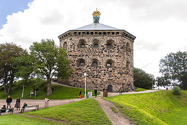 Skansen Kronan historic fortress in Haga, Gothenburg, Sweden, Scandinavia, Europe