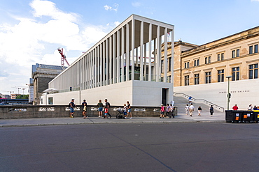 James Simon Gallery and Pergamon Museum in the Museumsinsel (Museum Island), UNESCO World Heritage Site, Berlin, Germany, Europe