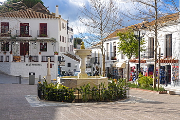 Old white village of Mijas, Malaga province, Andalucia, Spain, Europe