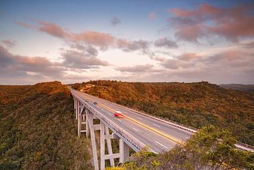 Motorway bridge, Cuba, West Indies, Caribbean, Central America