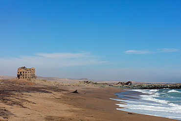 Diamond Mine in extreme north-west, located on the southern bank of the Orange River mouth, Alexander Bay, Northern Cape, South Africa, Africa