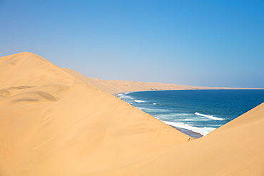 Sandwich Harbour Dunes, Namibia, Africa