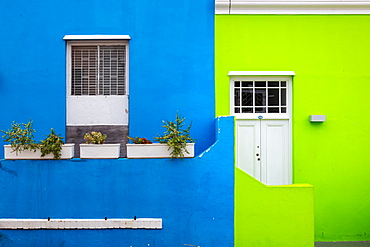 Bo-Kaap, located in between the city centre and the foot of Signal Hill, Cape Town, South Africa, Africa
