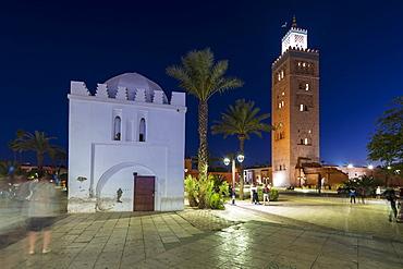 Koutoubia Mosque, UNESCO World Heritage Site, Marrakech (Marrakesh), Morocco, North Africa, Africa