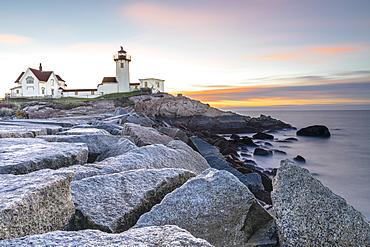 Easter Harbor Lighthouse, Gloucester, Massachusetts, New England, United States of America, North America
