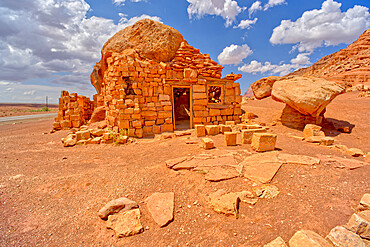 Pioneer Ruins of House Rock at Soap Creek in Vermilion Cliffs National Monument Arizona