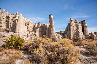 Plaza Blanca (the White Place) in the Rio Chama hills, New Mexico, United States of America, North America