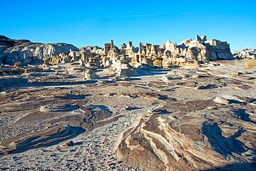 Bisti/De-Na-Zin Wilderness in New Mexico, United States of America, North America