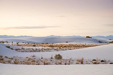 White Sands National Park near Alamogordo, New Mexico, United States of America, North America