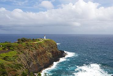 Kilauea Lighthouse on the island of Kauai, Hawaii, United States of America, North America