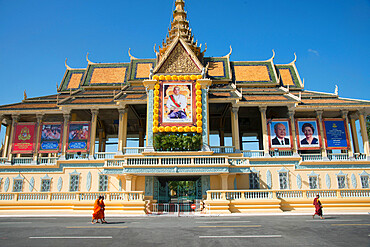 Royal Palace complex, Phnom Penh, Cambodia, Indochina, Southeast Asia, Asia