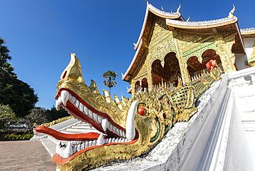 Royal Palace, Luang Prabang, Laos, Indochina, Southeast Asia, Asia