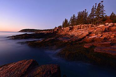 Seashore, Maine, New England, United States of America, North America