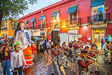 Dia De Los Muertos (Day of the Dead) celebrations in Oaxaca, Mexico, North America
