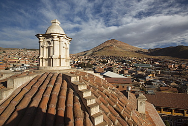 Iglesia de San Lorenzo de Carangas, Potosi, Bolivia, South America