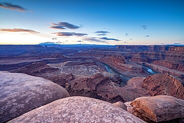 Canyon view from Dead Horse Point State Park, Utah, United States of America, North America